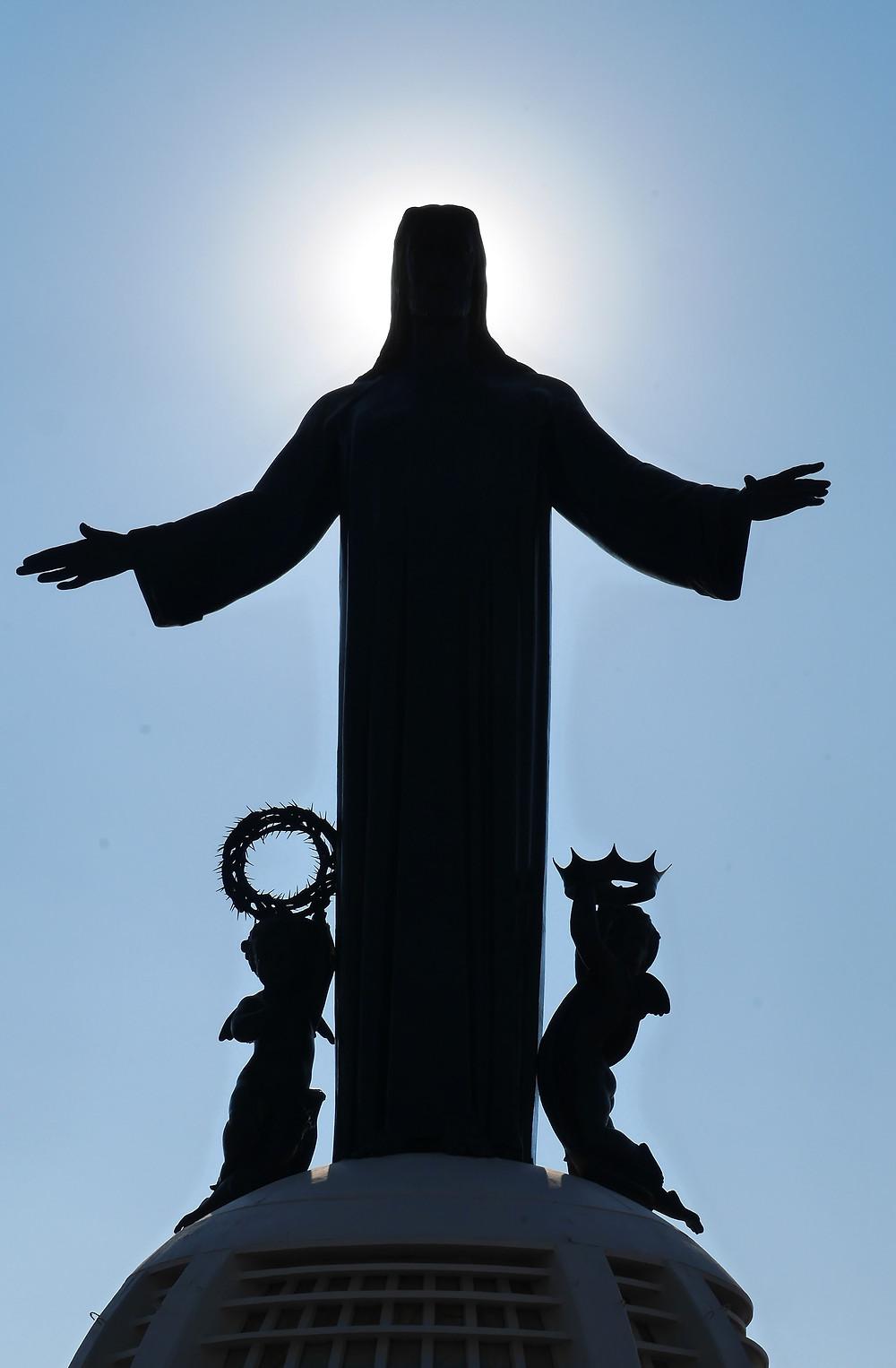 Cristo Rey, Cubileto Mexico Statue