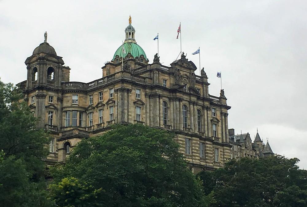 Bank of scotland edinburgh, old architecture