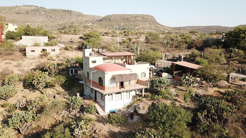 San Miguel de Allende, Mexico, Desert, house, drone, photography, videography, HoverHigher, Coffeys2Go, photo, shot, business