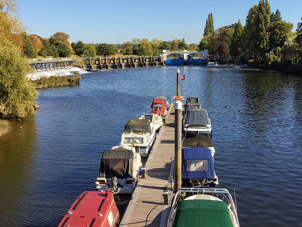 River Thames UK Teddington