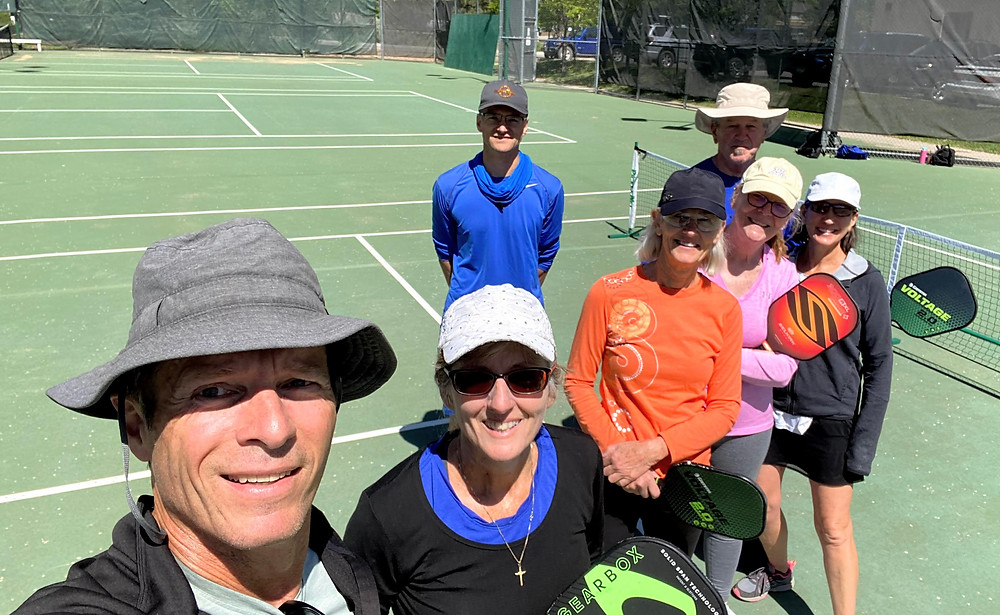 Durango, CO Pickleball Courts on High School tennis courts