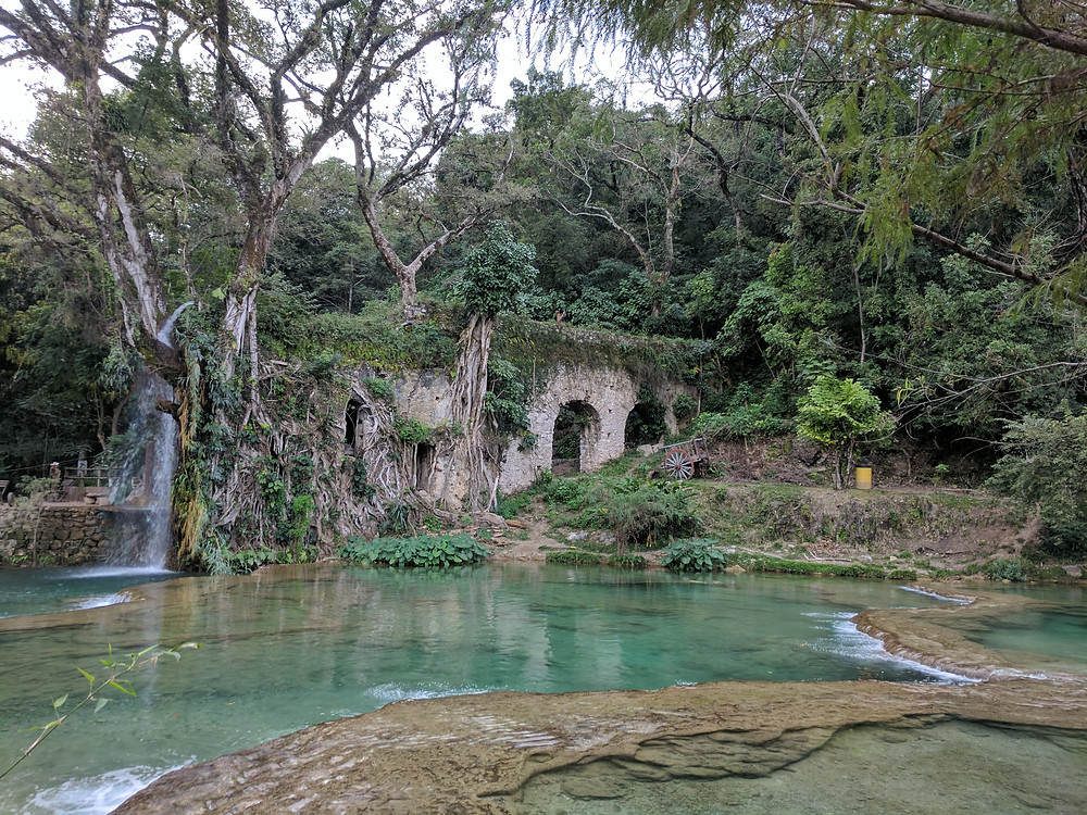 Tamasopo, San Luis Potosi old aqueduct