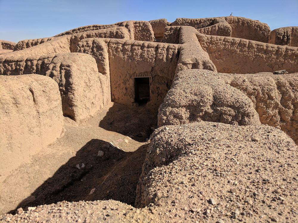 Unesco World Heritage site, Paquimé in Casas Grandes, Chihuahua, Mexico