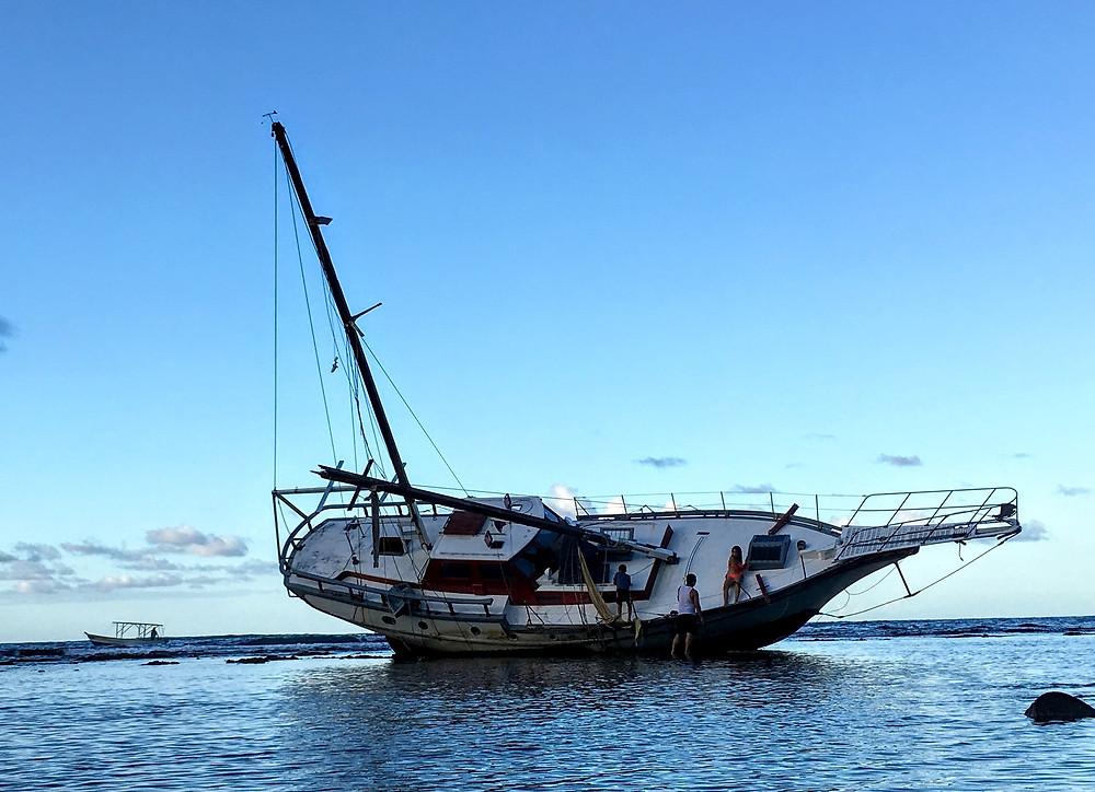 sailboat, ocean