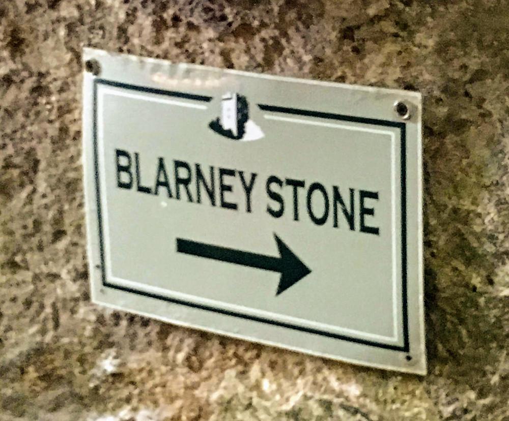 blarney stone sign