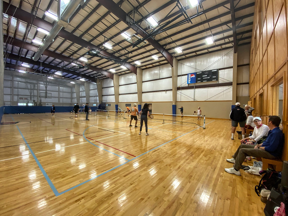 Corvalis OR G3 Sports and Fitness Indoor Pickleball Coffeys2Go