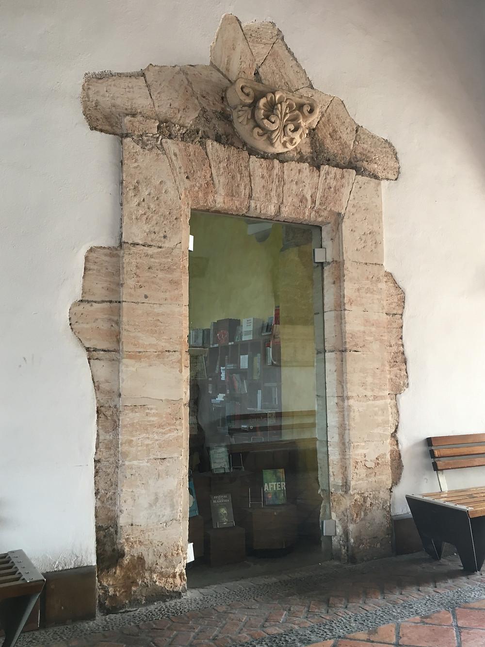 Saltillo, Coahuila, Mexico bookstore window