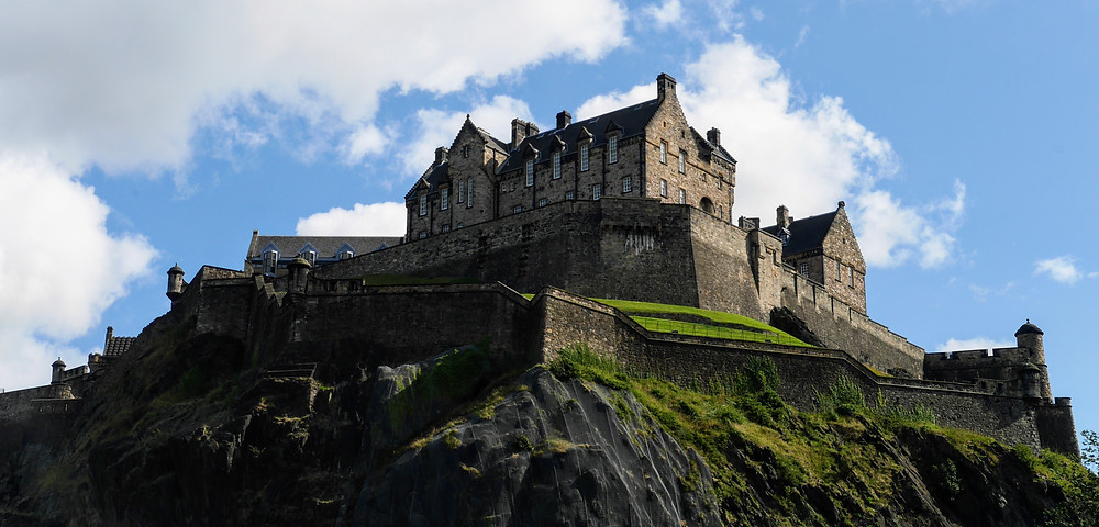 Edinburgh Castle, Scotland, St. Margaret's Chapel