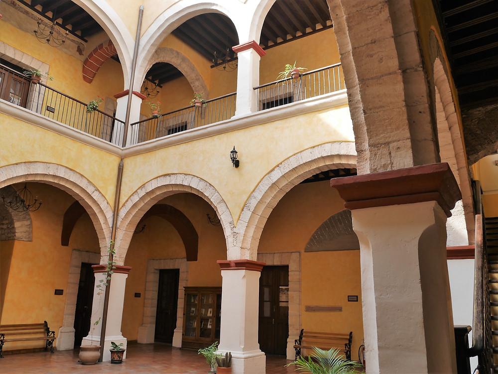 Saltillo, Coahuila, Mexico interior of school