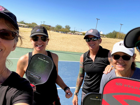 A Pickleball Lesson With a Pro - 5th in a Series of 12 Helle Sparre AGAIN!