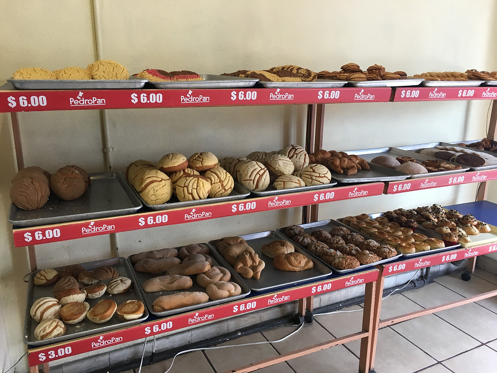 pasticeria in mexico bakery