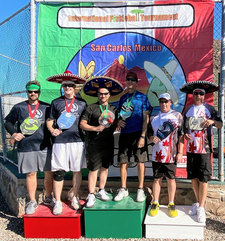San Carlos Nuevo Guaymas, Sonora, Mexico Tournament Amigo Cup Pickleball Coffeys2Go HoverHigher.com Nomads Ky Coffey Gold Medal Bonnie