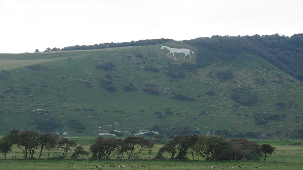 Litlington White Horse Sussex UK