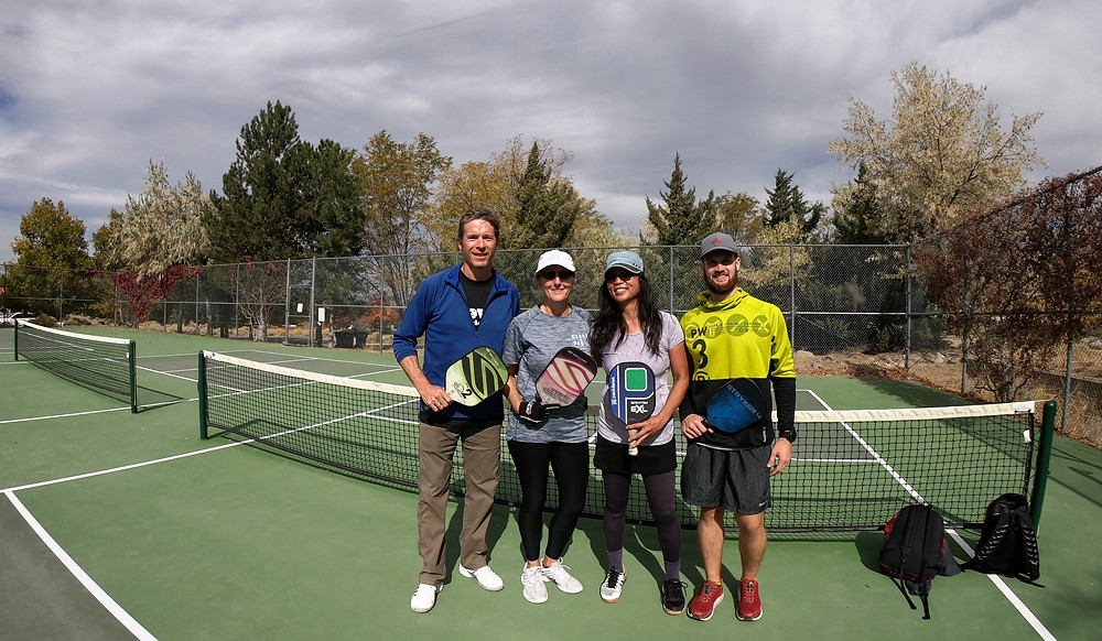 Reno, NV - Hidden Valley Outdoor Pickleball Courts