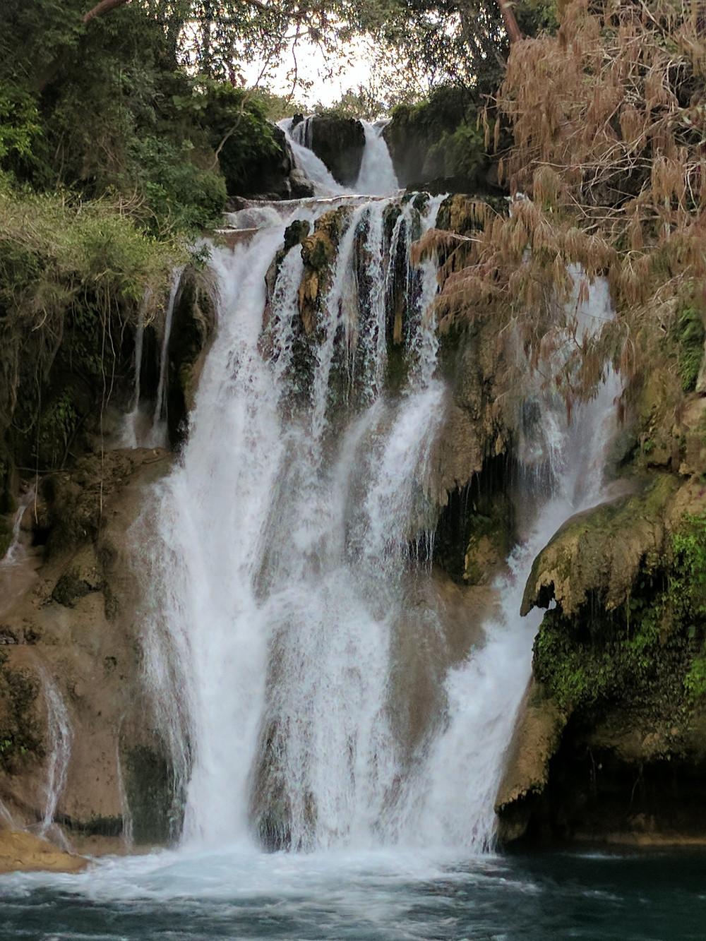 Tamasopo, San Luis Potosi waterfalls in mexico