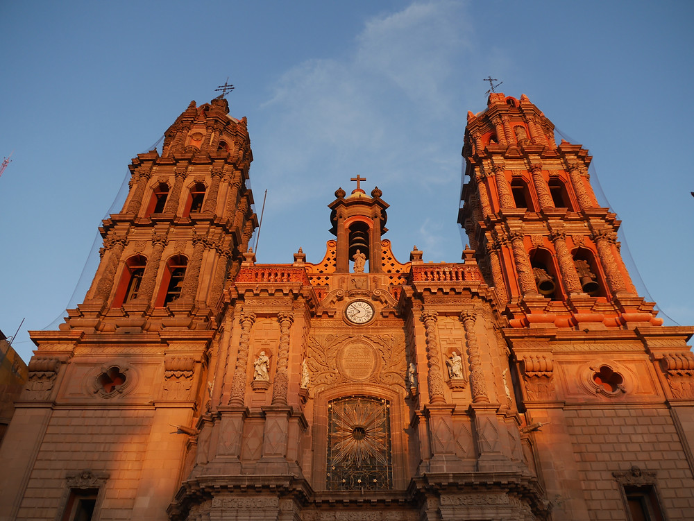 San Luis Potosi old church Mexico
