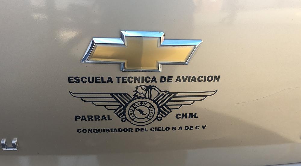 esquela tecnica de aviacion Parral, Chihuahua, Mexico