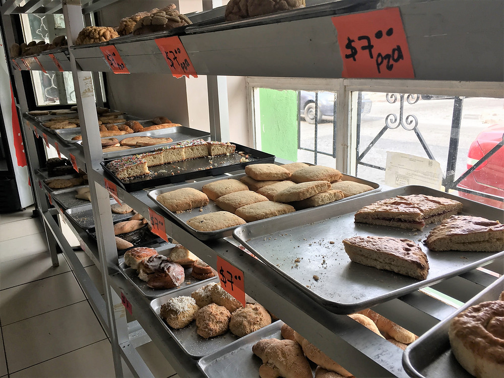 Saltillo, Coahuila, Mexico bakery pastries