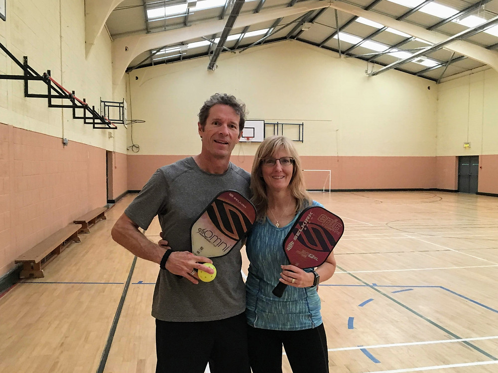 pickleball court omni indoor gym