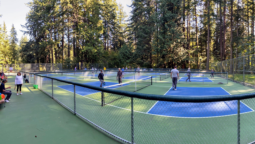 Bellingham Corwall Park, Washington Pickleball Outdoor