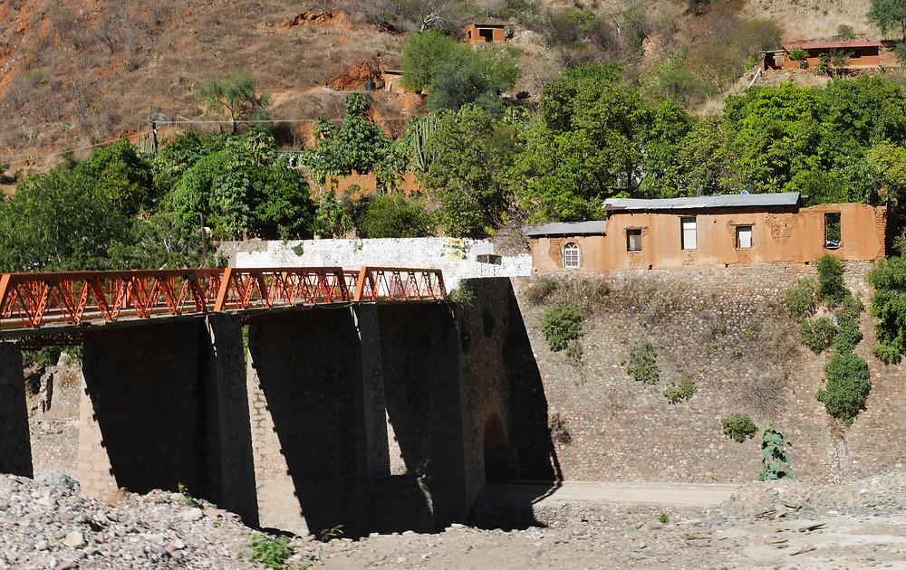 Batopilas, Chihuahua, Mexico bridge