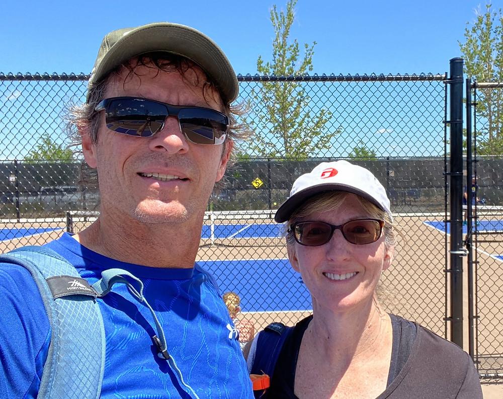 Pickleball Manzano Mesa Park Albuquerque New Mexico NM court sport