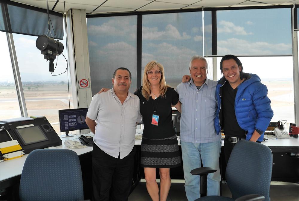 Puebla Airport air traffic control tower