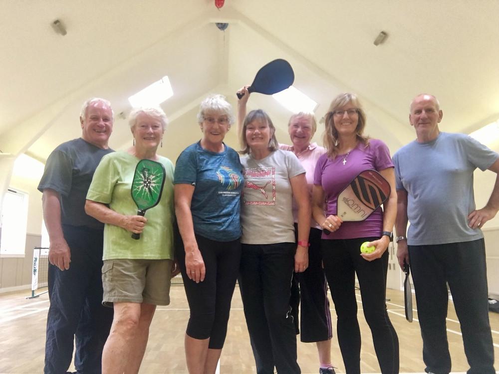 Fairmilehead Church of Scotland pickleball indoor courts