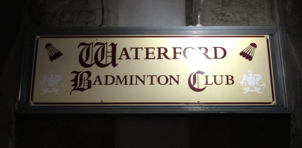 Waterford Badminton Club sign Ireland