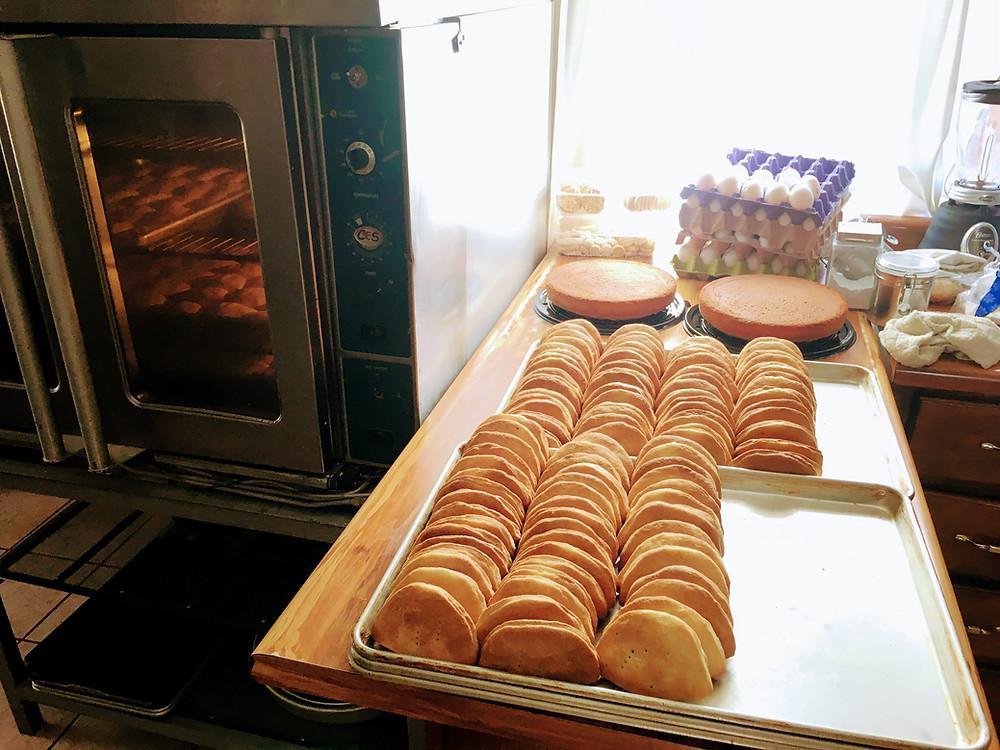 Empanadas at bakery in Casas Grandes, Chihuahua, Mexico