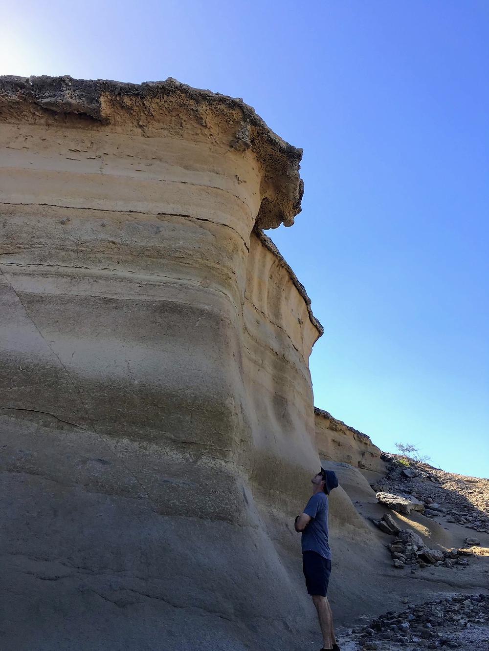 beach ocean mexico cliff