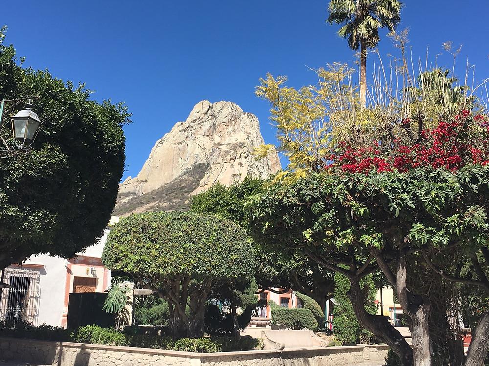 Pueblo Magico, Bernal monolith Mexico