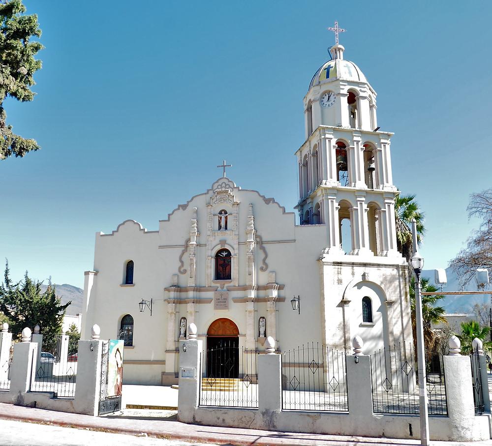 San Isidro Labrador, Pueblos Magicos, Arteaga, Mexico church