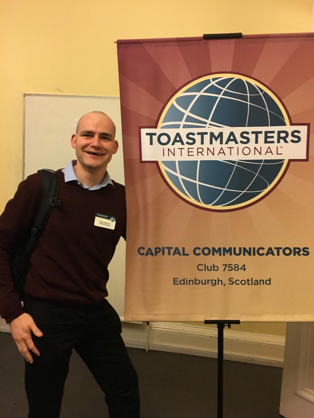 Capital Communicators Toastmasters International Edinburgh, Scotland Club 7584