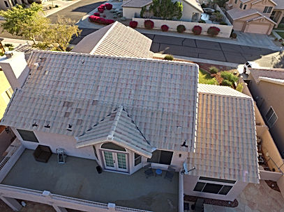 Roof Inspection Solar Panels removed