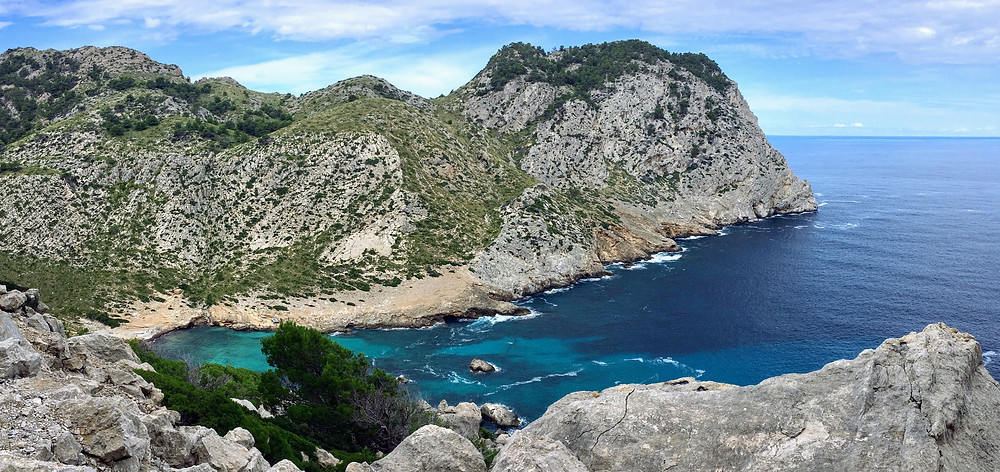 Mallorca Spain cliffs ocean scenic view