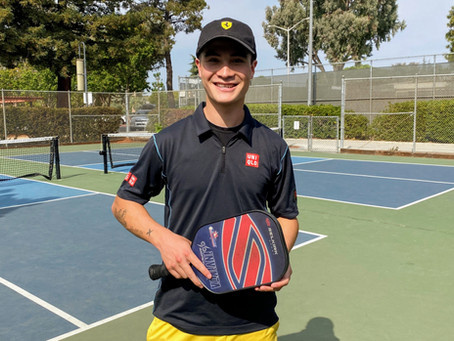 A Pickleball Lesson with a Pro - 1st in a Series of 12 - Caden Nemoff