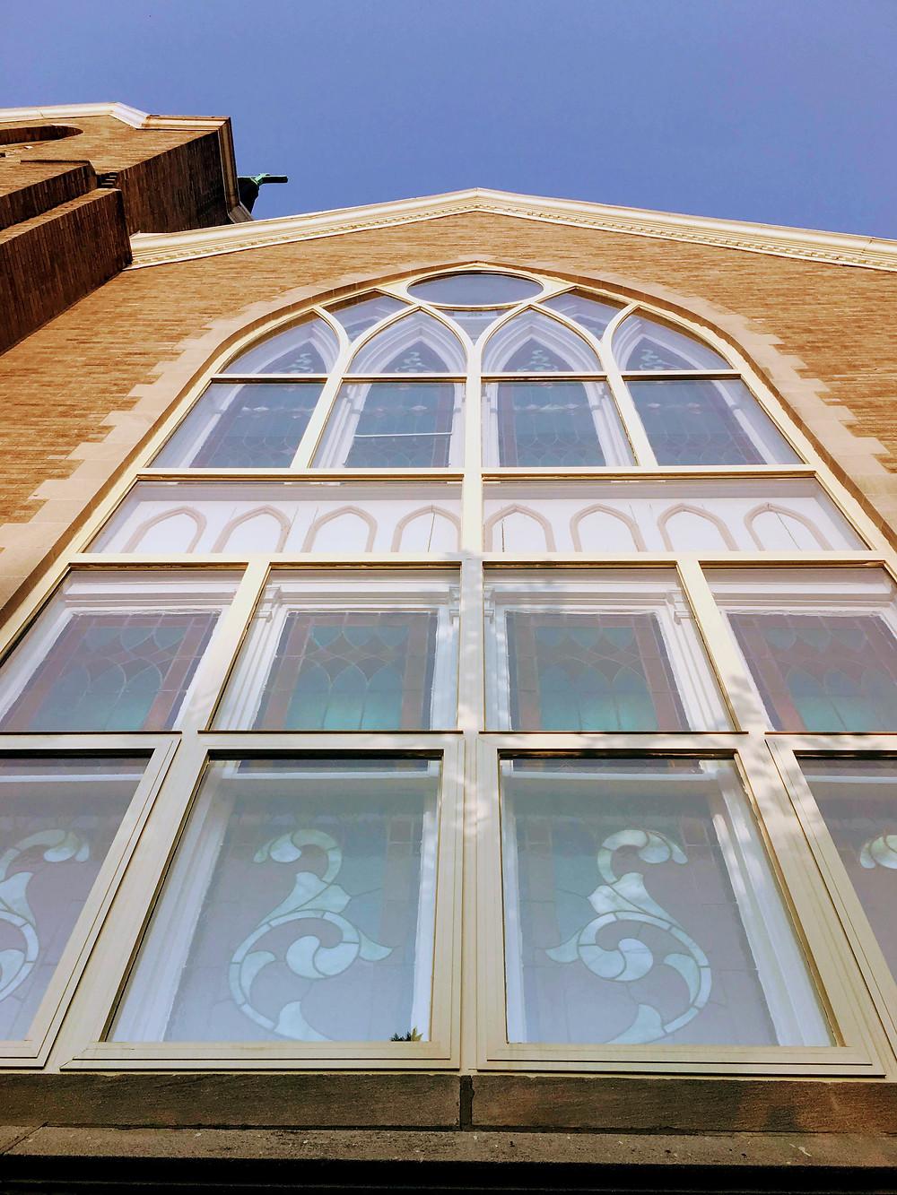 old church in Evanston, Illinois