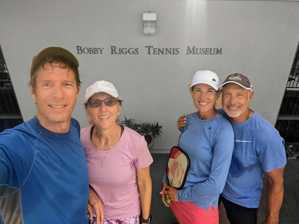 Marriott on Coronado Island, Bobby Riggs Racquet & Paddle Club Museum, Pickleball Friends