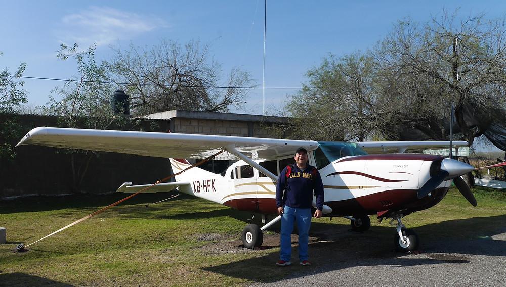 Cessna agriculture pilot citrus