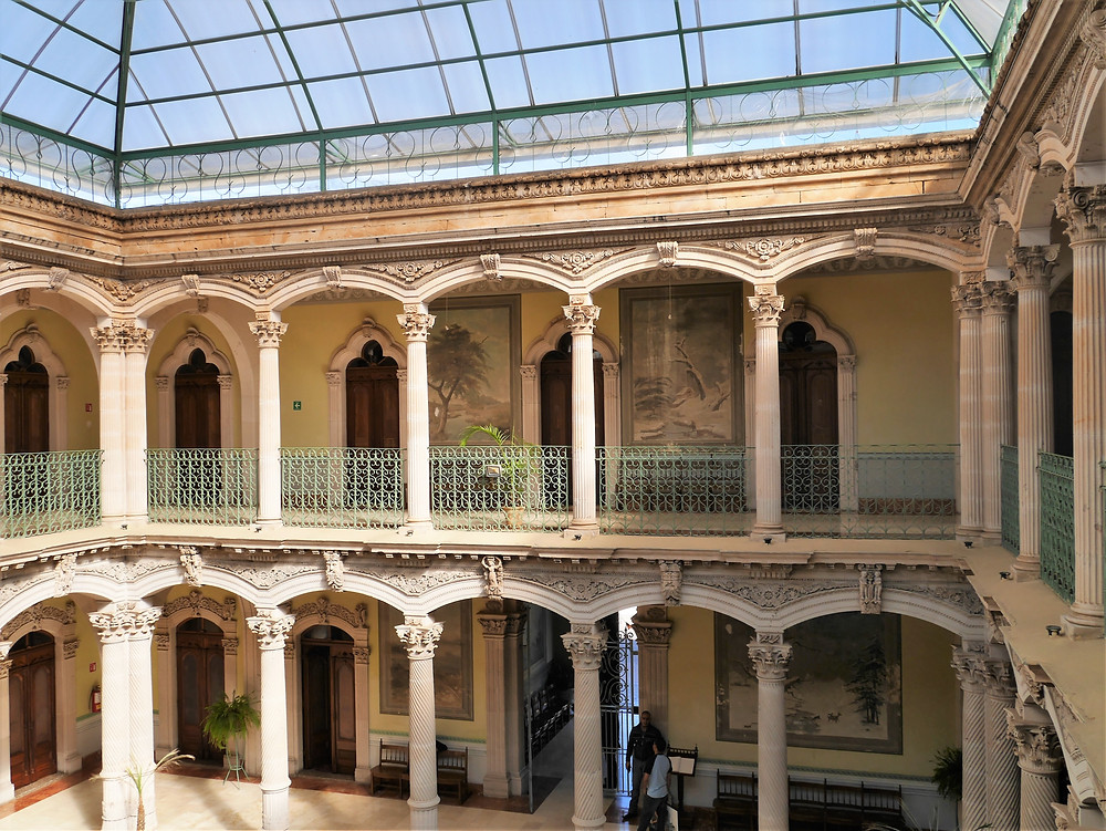 Alvarado Palace, silver mine magnate Pedro, Parral, Chihuahua, Mexico