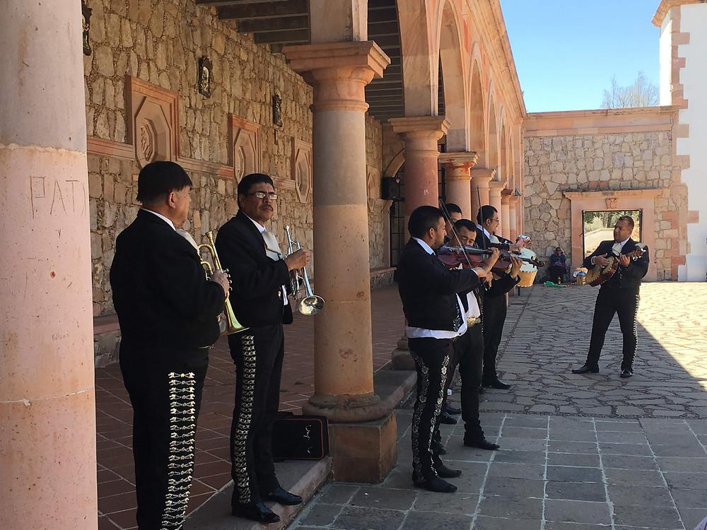 Marichi Band, Shrine of Our Lady of Patronage Catholic Church, Mexico, Zacatecas