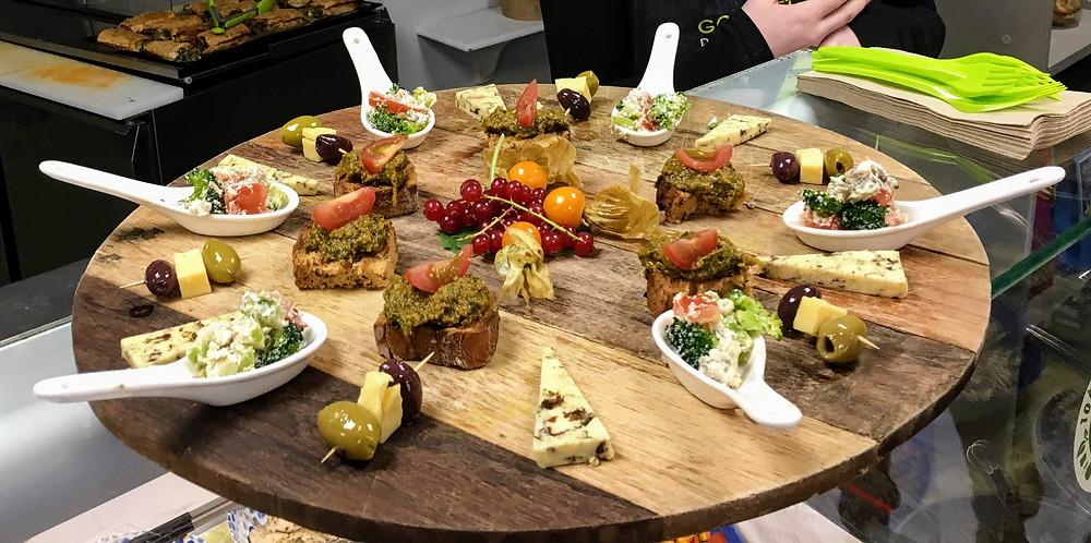 Kinsale Ireland cheese platter food gourmet