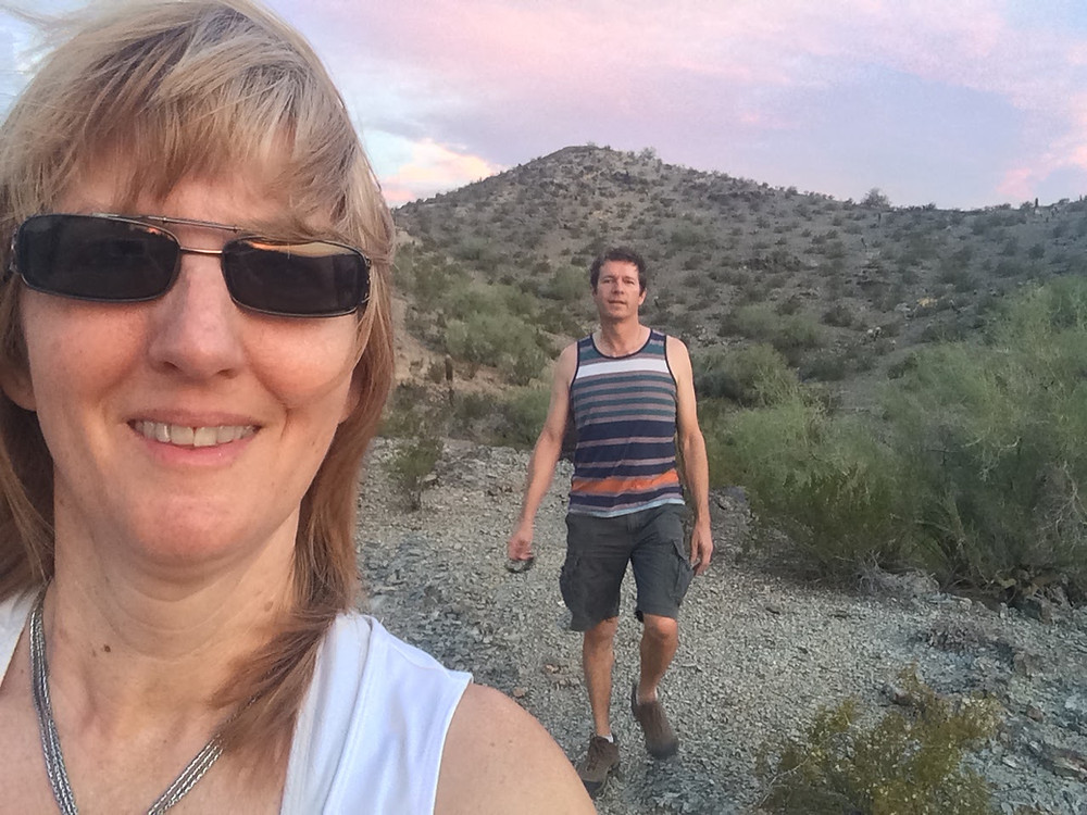 Hiking Phoenix Arizona AZ Coffeys2Go