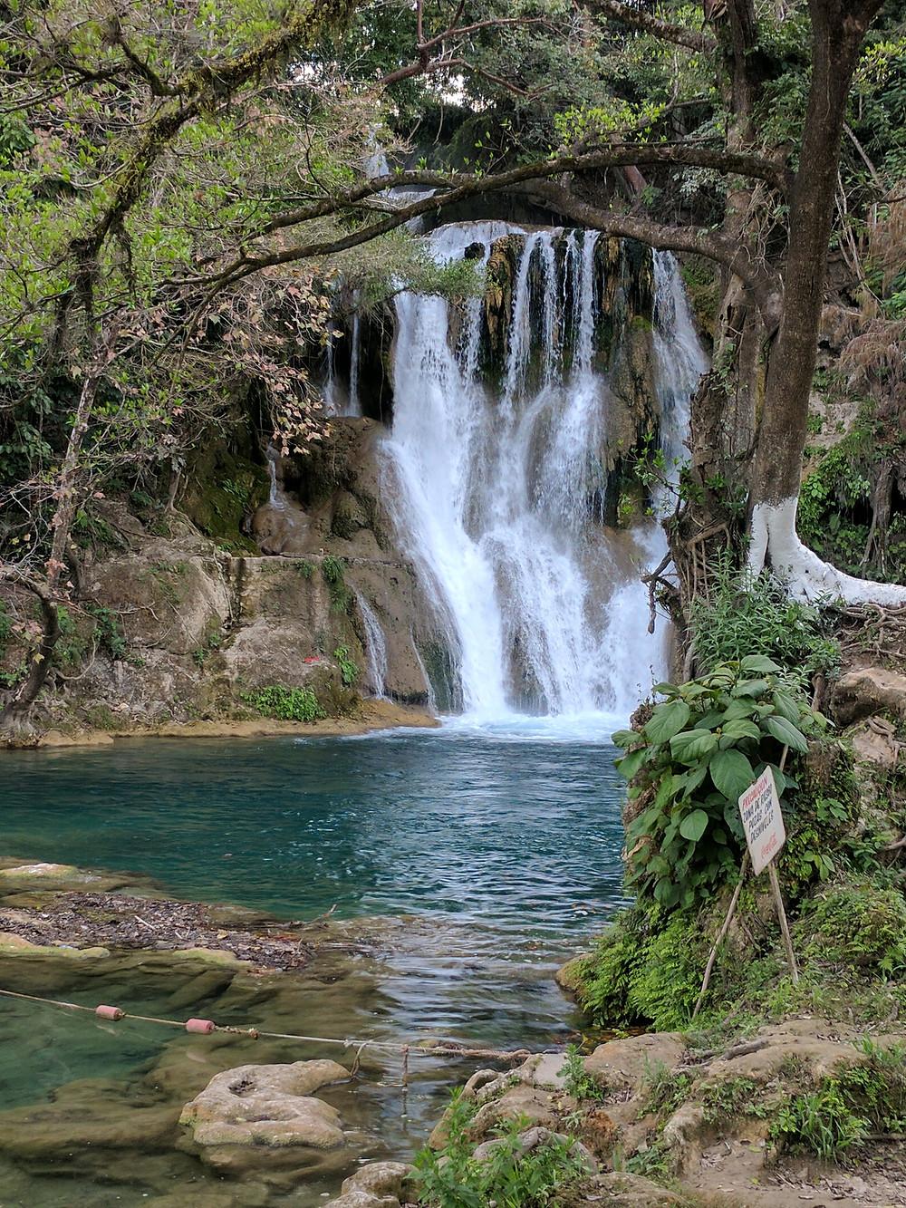 Tamasopo, San Luis Potosi pools waterfall