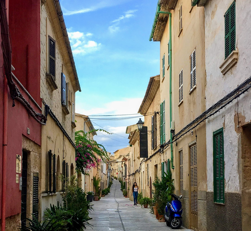 Old Town Alcudia Spain