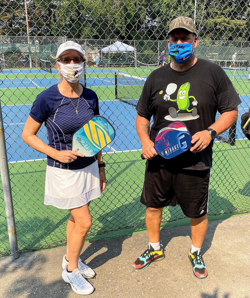 Pickleball masks coronavirus covid-19 social distancing Blog Coffeys2Go.com Rohnert Park CA California Sunrise Park
