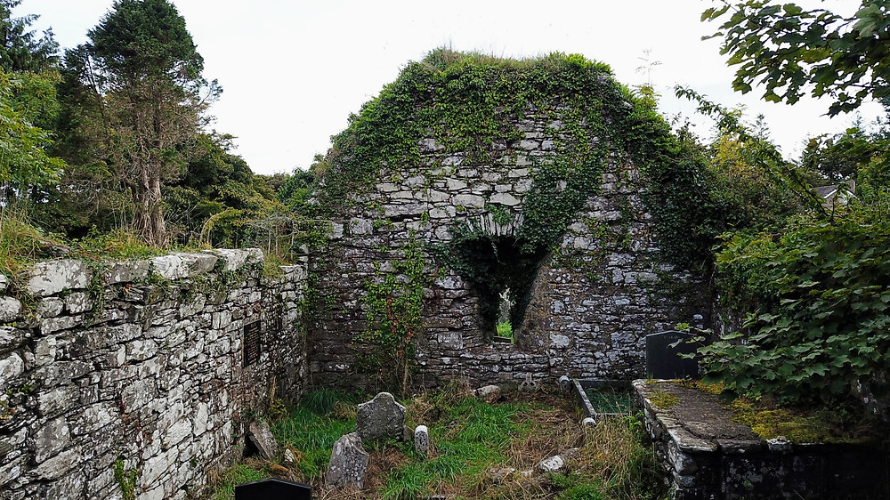 Ruins Remains of Saint Mary's RC Church Ireland