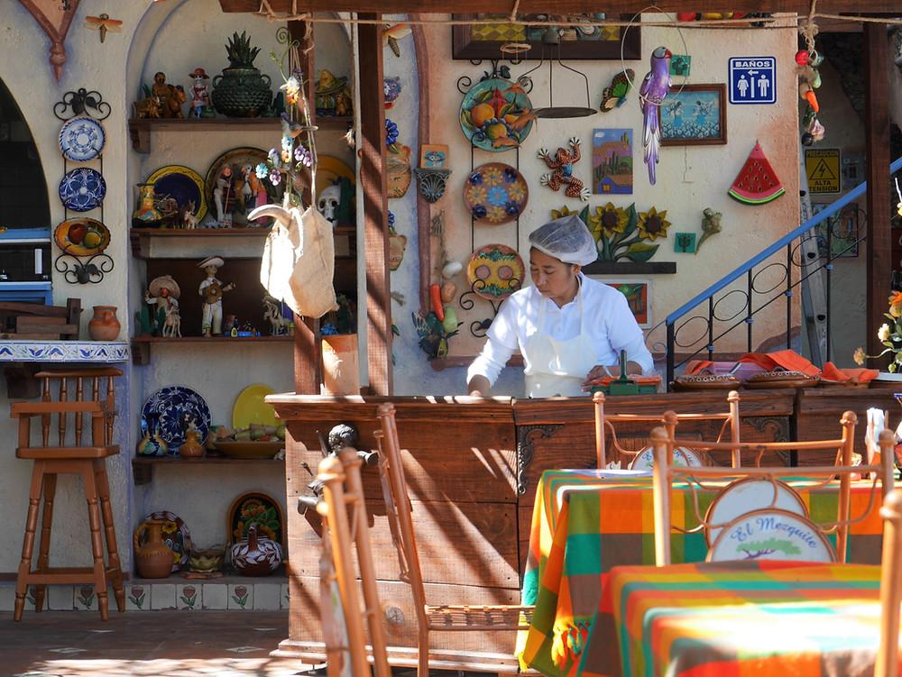 El Mezquite in Bernal artisan