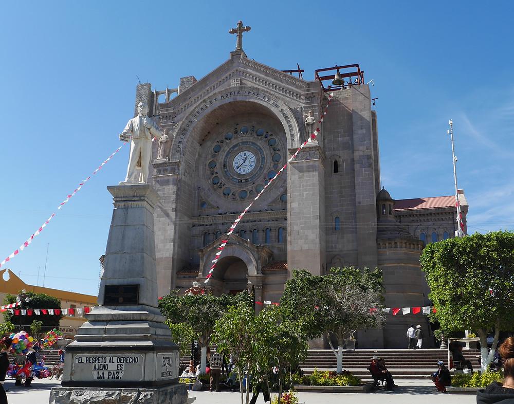 Matehuala, San Luis Potosi, Mexico, El respeto al derecho ajeno es la paz church